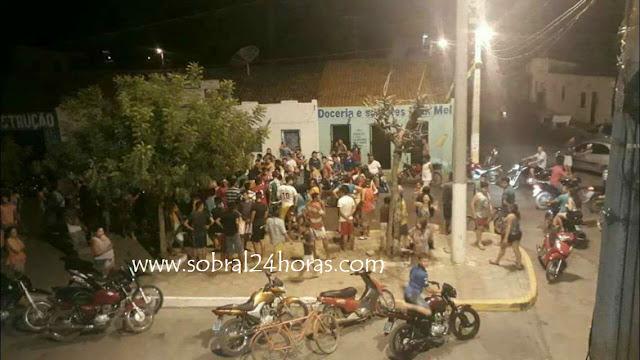 Seis bandidos praticaram um arrastão no Distrito de Rafael Arruda