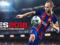 PES 2018 Pro Evolution Soccer v1.1 Apk Data Mod Money Unlimited Gratis