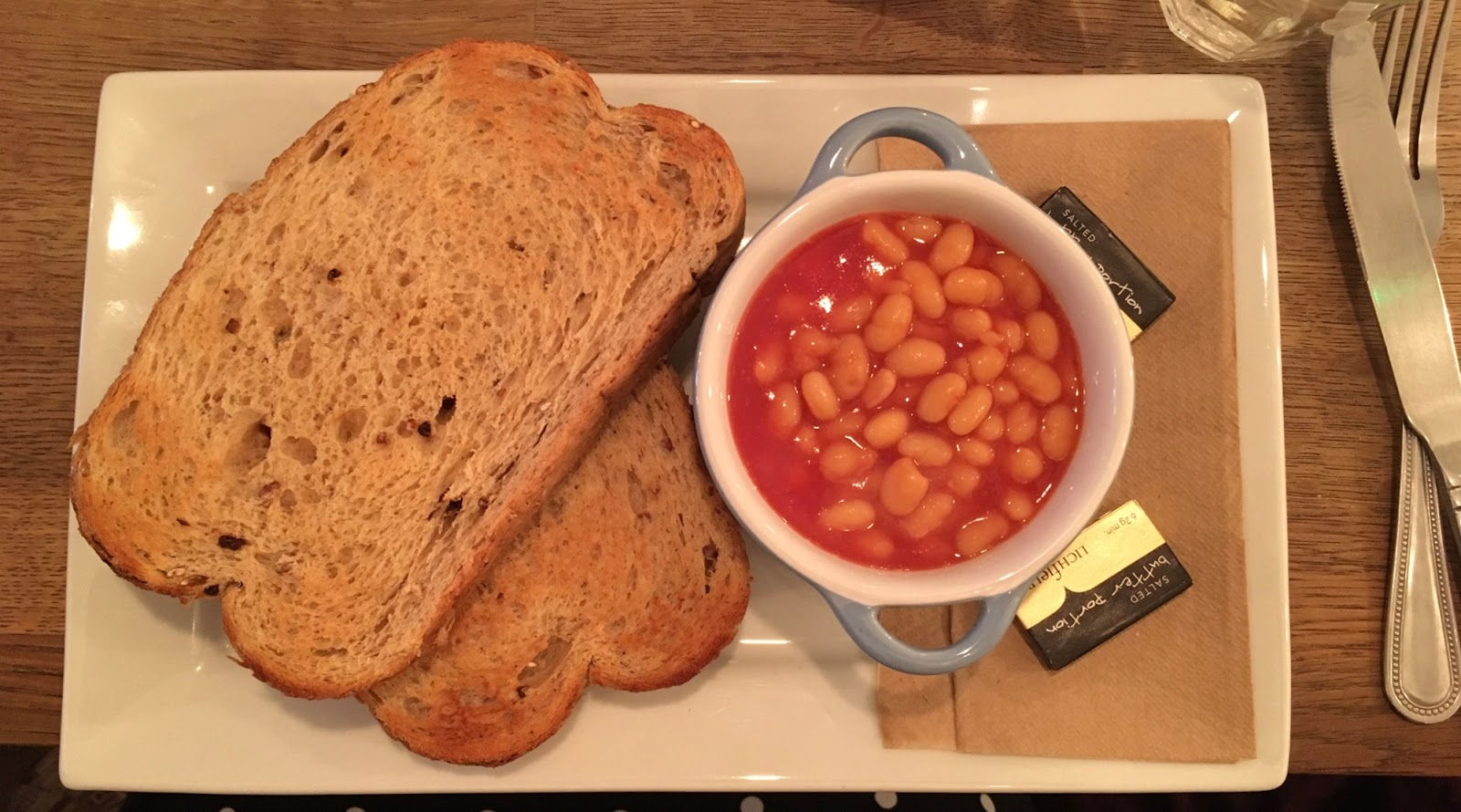 Baked Beans and Toast