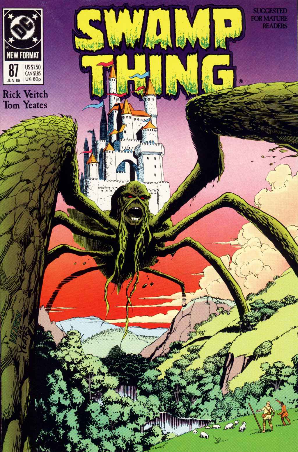 Swamp Thing (1982) Issue #87 #95 - English 1