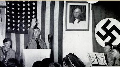 American Nazi speech 1930s