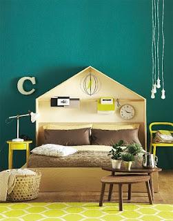 cabecera cama original
