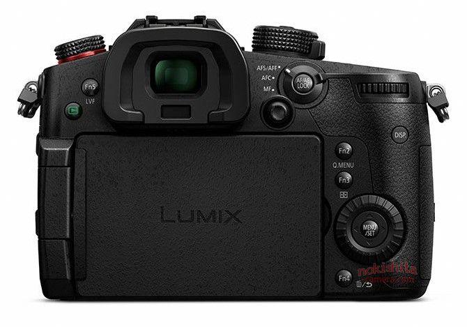 Panasonic Lumix GH5s, вид сзади