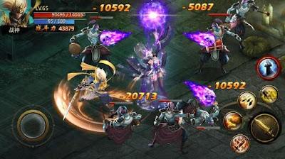 Chaos Combat v 1.0.00 Mod Apk Terbaru