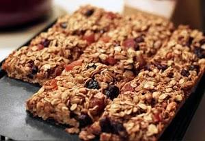 Receita de barrinha de cereal caseira