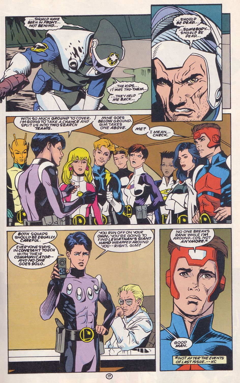 Legion of Super-Heroes (1989) 63 Page 17