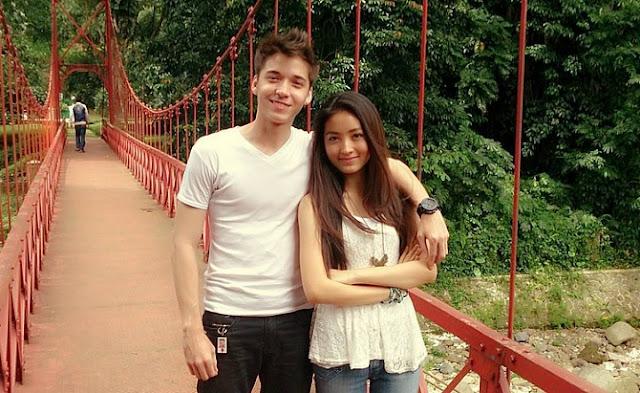 foto stefan william dan natasha wilona romantis