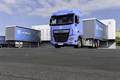 Tecnologia inteligente da ZF aumenta a eficiência e a segurança da logística nos terminais de carga e descarga