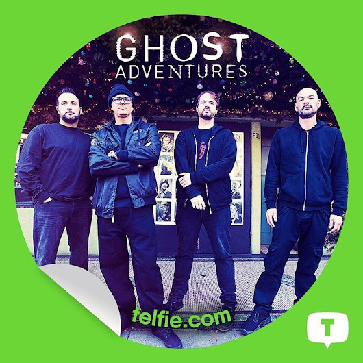 New Telfie App Stickers #GhostAdventures! from #TravelChannel