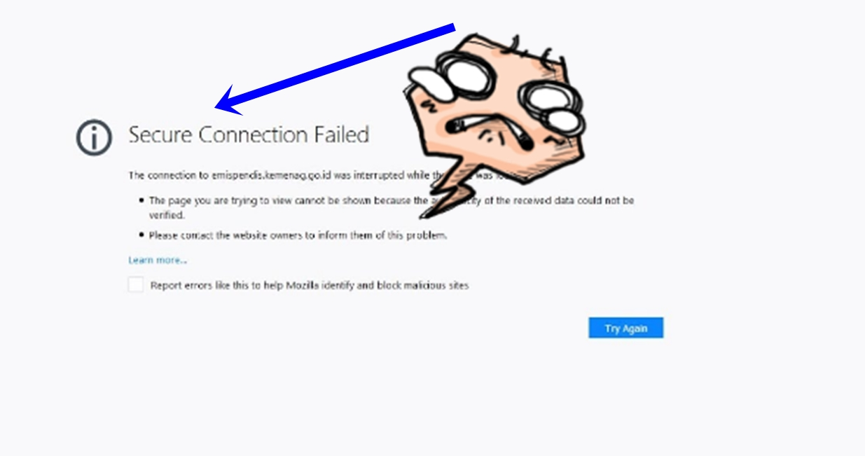 Mengatasi Secure Connection Failed Di Mozilla dan Chrome