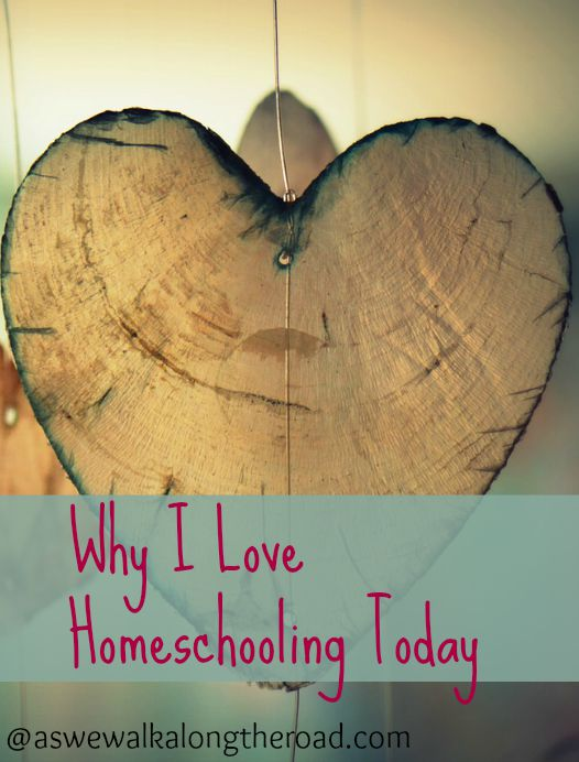 Why I love homeschooling today