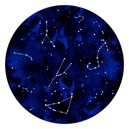 Constellation Sky - Erin Clark - Inked in Red