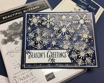 Stampin' Up!, www.stampingwithsusan.com, Blizzard Thinlits, Nancy Brown