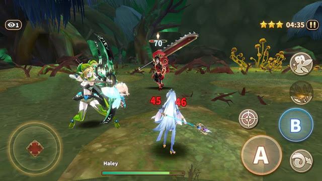 Dawn Break -Origin-: Um RPG OFFLINE com visual de anime e muita ação
