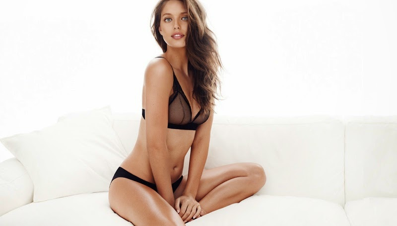 Emily DiDonato Wears Sexy Lingerie For The HampM 2015