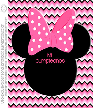 Invitaciones De Minnie Mouse Rosa Para Imprimir Imágenes Y
