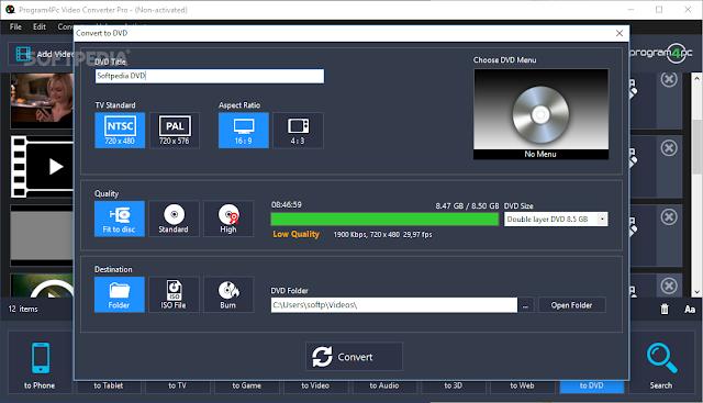 تحميل برنامج محول الفيديو للكمبيوتر Program4Pc Video Converter Pro