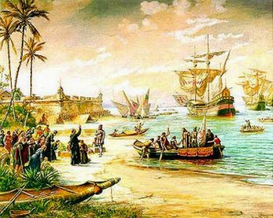 Forte São João - Bertioga - SP - Colonização do Brasil