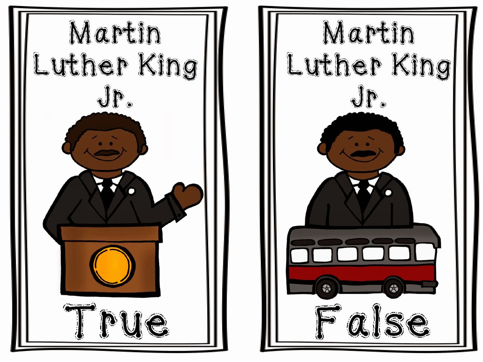 clip art martin luther king jr day - photo #46