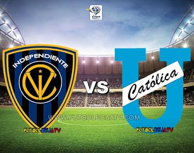 Independiente del Valle vs Universidad Católica - Sábado 09 de Diciembre del 2017 - Partido Jornada 22