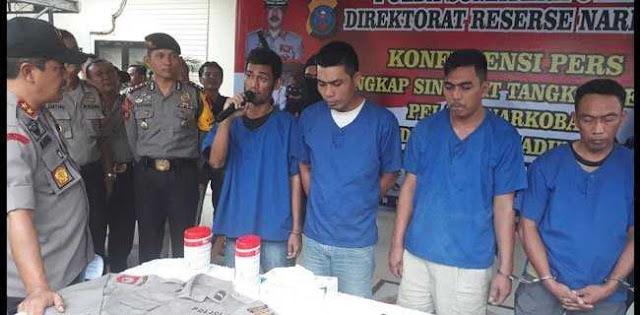 Terbongkar, Sindikat Polisi Gadungan Pemeras Bandar Narkoba