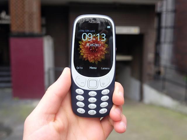 Nokia 3310 dengan Dukungan Jaringan 3G