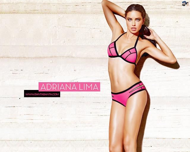 Adriana Lima bikini wallpaper