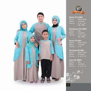 baju lebaran keluarga artis