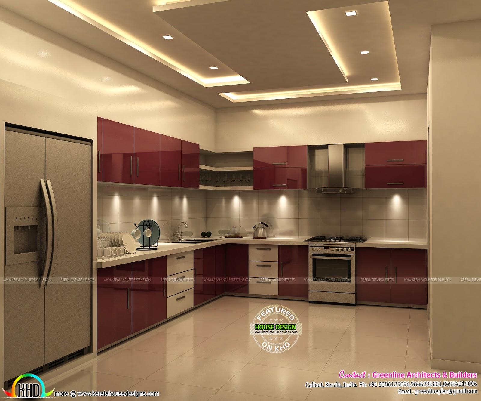 Grand and stylish interior designs - Kerala home design ...