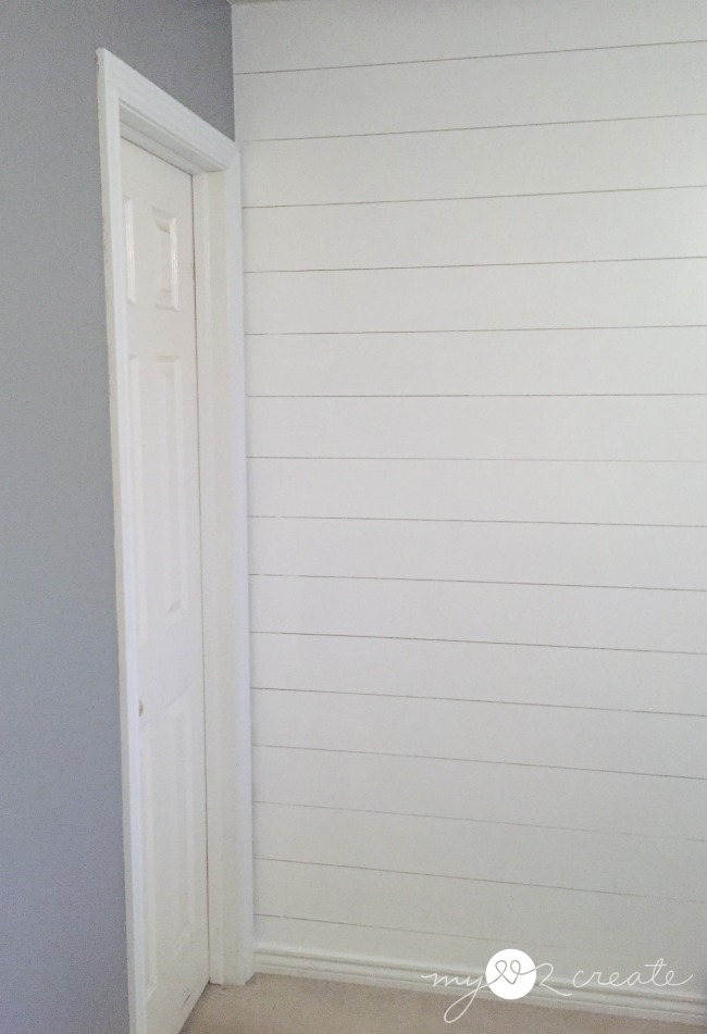 How to install a Plank wall...and how to avoid the biggest mistake EVER!!  MyLove2Create
