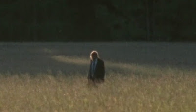 The Lone Walker shuffling through the field in Season 2 of The Walking Dead