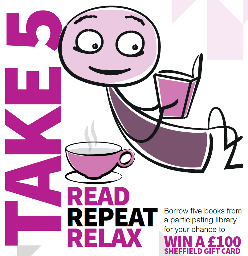 Libraries Sheffield: Take 5 - Read, Repeat, Relax