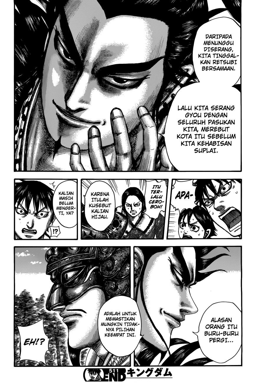 Baca Komik Manga Kingdom Chapter 511 Komik Station