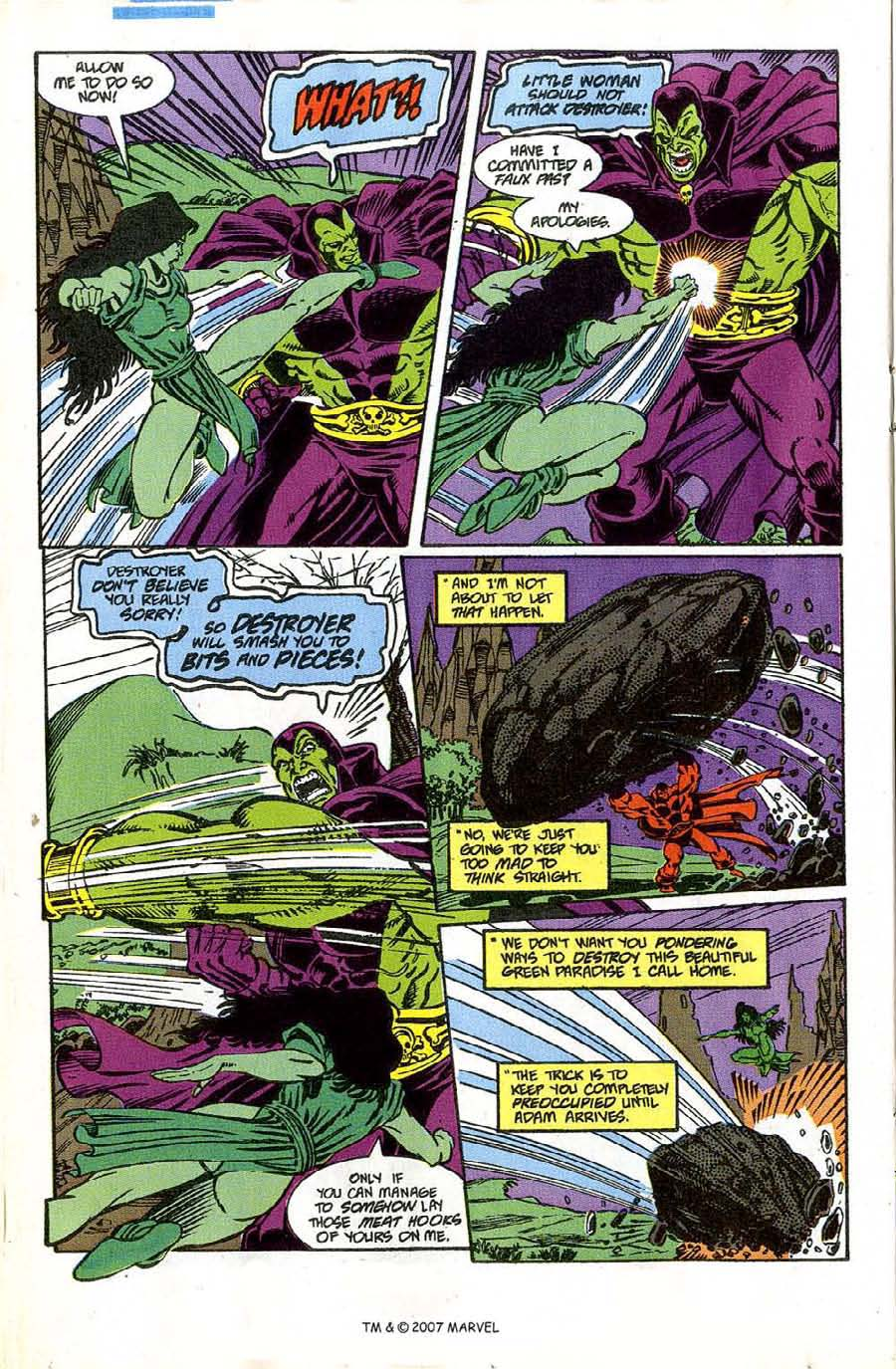 Read online Silver Surfer (1987) comic -  Issue #46 - 20
