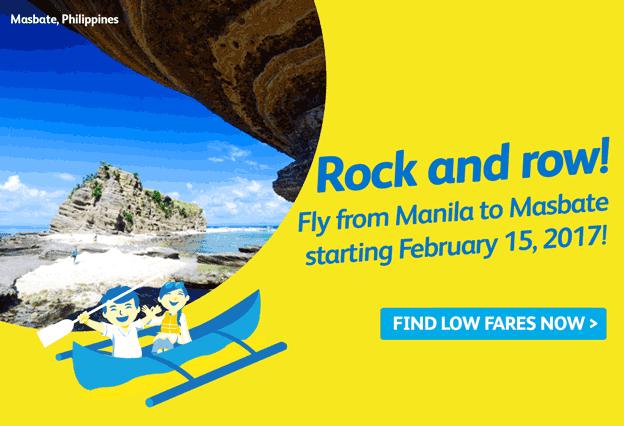 Cebu Pacific Manila to Masbate Promo 2017