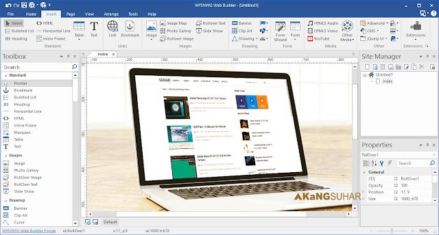 Download WYSIWYG Web Builder 11.6.4 Final Full Version