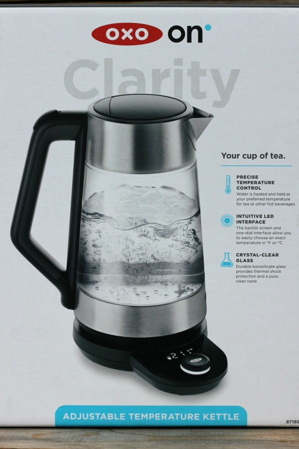 OXO Adjustable Temperature tea and coffee water Kettle