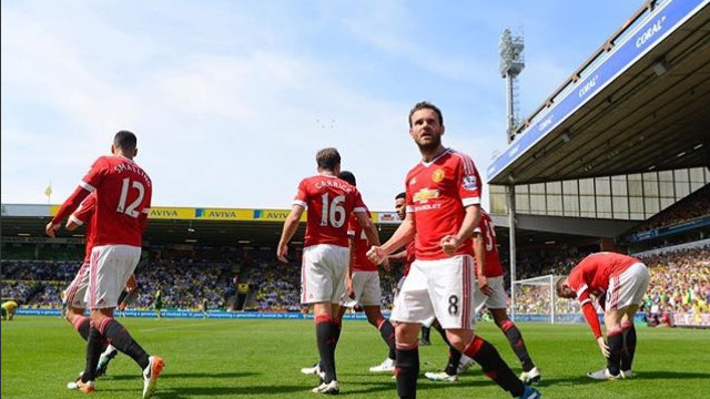 [Video] Cuplikan Gol Norwich 0-1 Machester United (Liga Inggris)