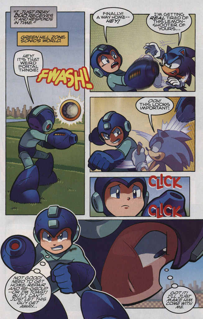 Read online Sonic The Hedgehog comic -  Issue #248 - 23