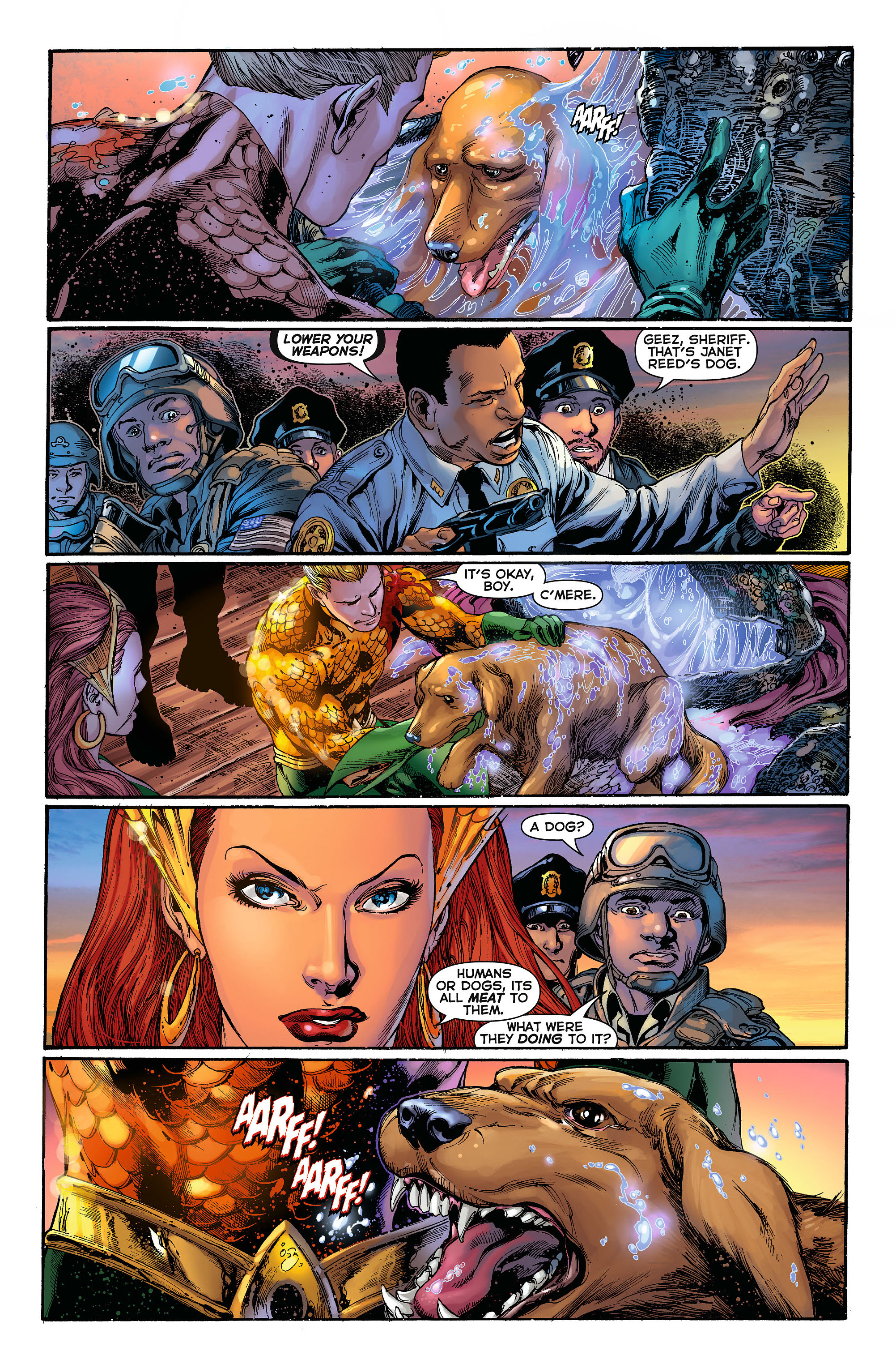 Read online Aquaman (2011) comic -  Issue #3 - 11