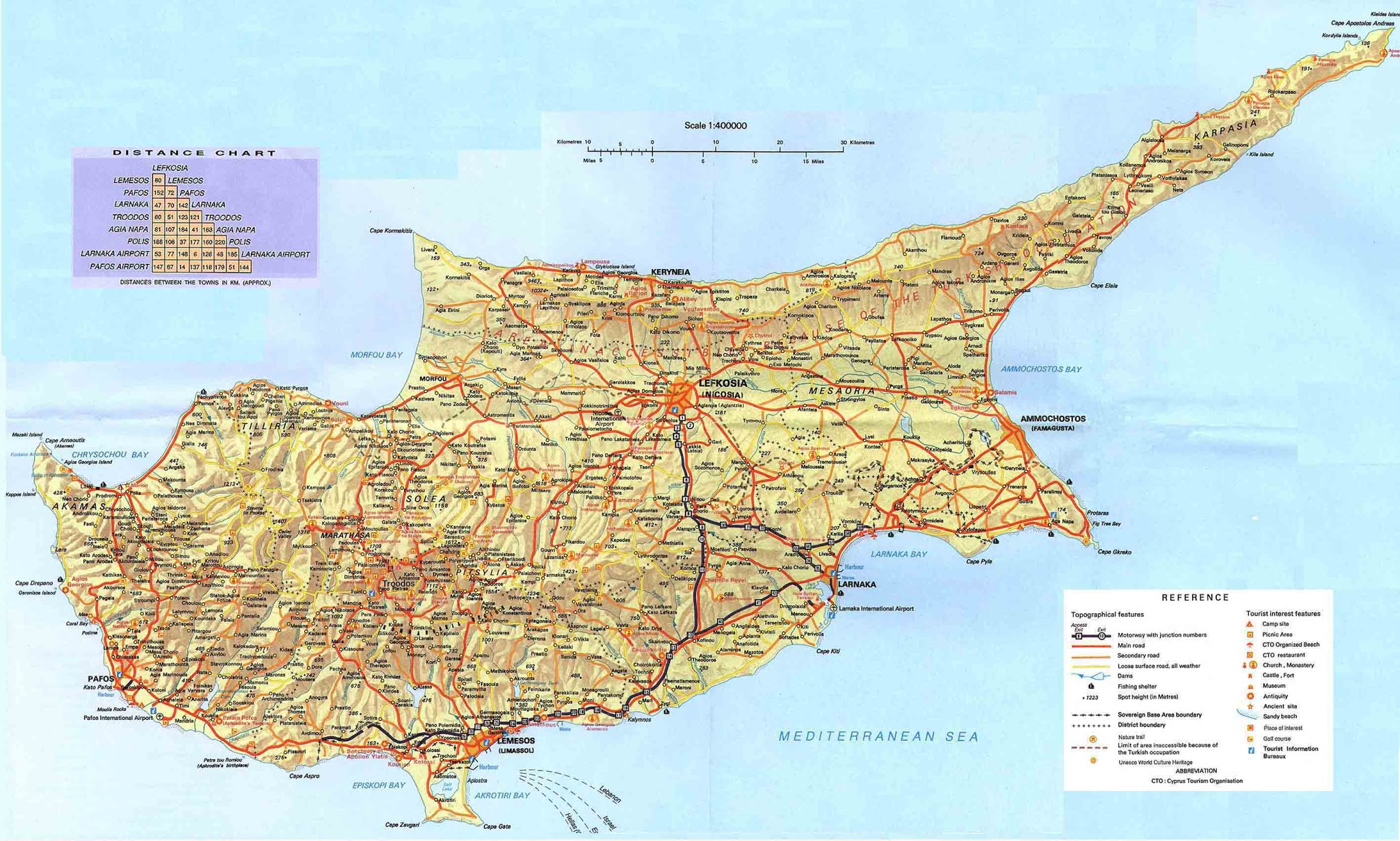 Republic of cyprus map hd world maps cyprus map gumiabroncs Image collections