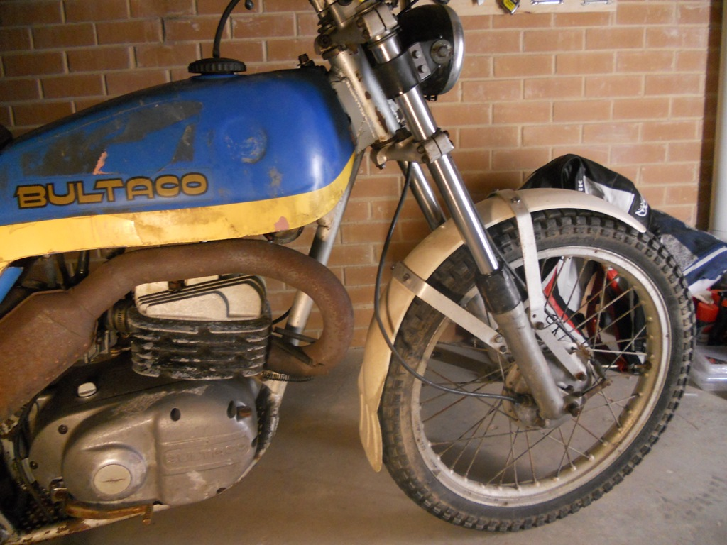 Bultaco Alpina Restoration