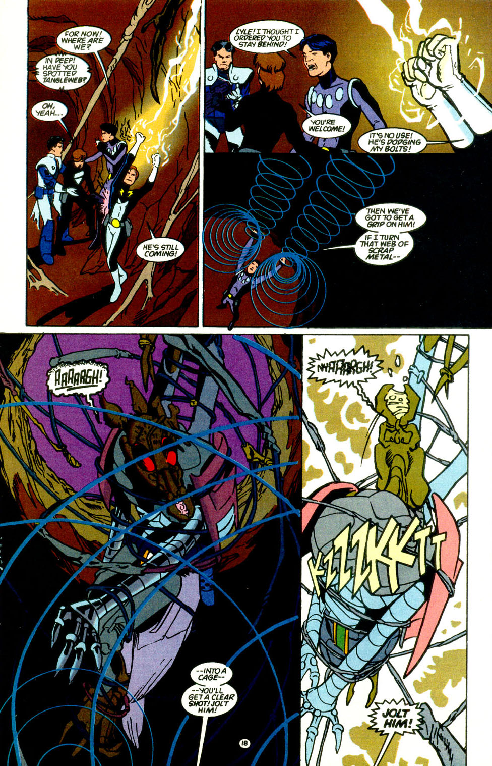 Legion of Super-Heroes (1989) 68 Page 19