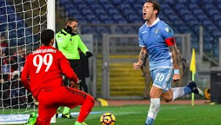Video Gol Lazio vs AC Milan 1-1