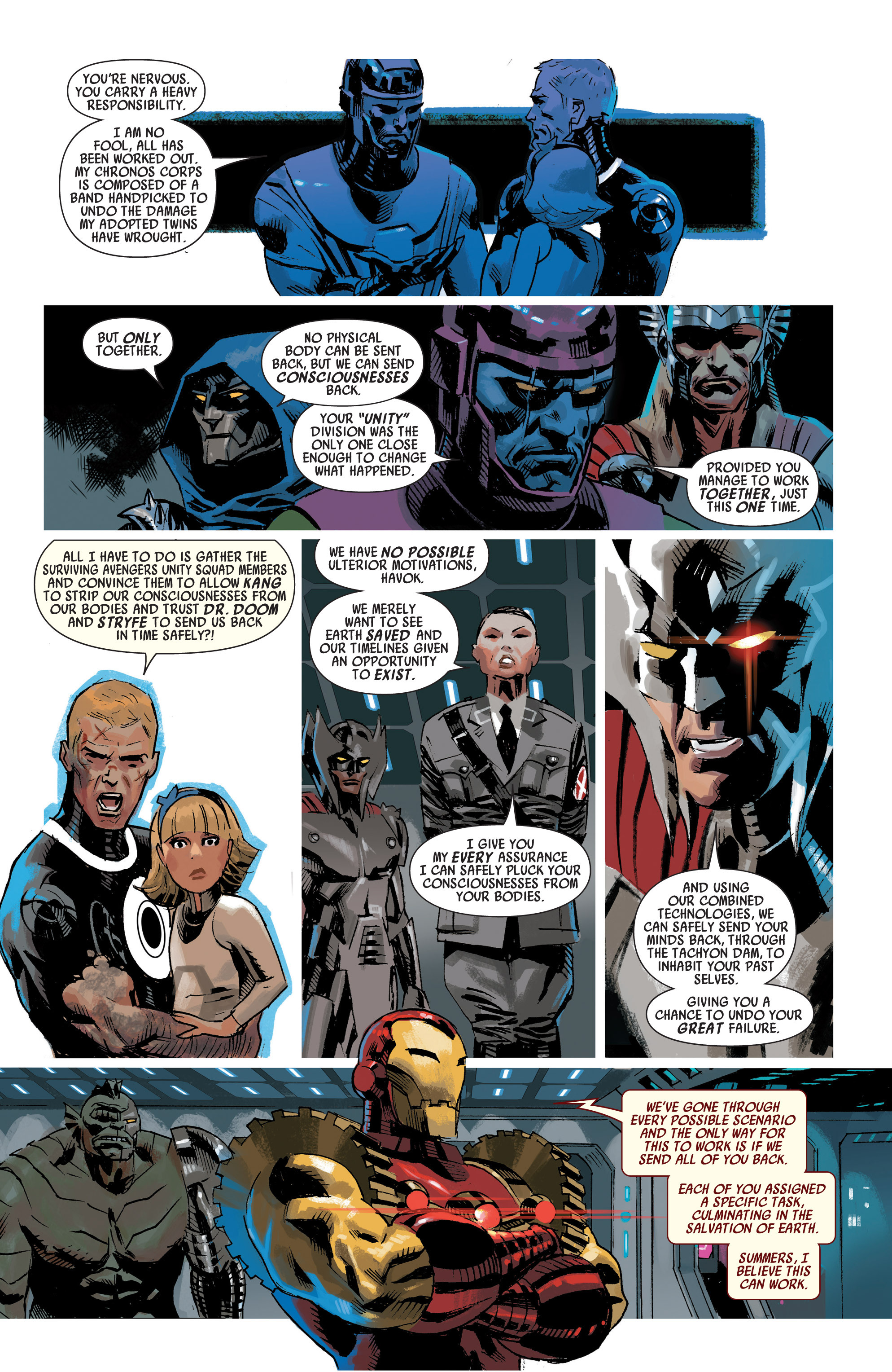 Read online Uncanny Avengers (2012) comic -  Issue #19 - 7