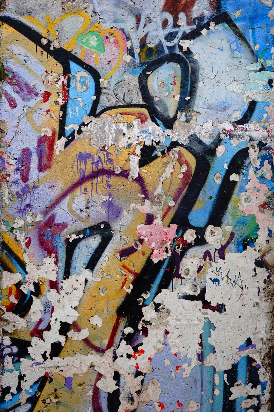 Le Chameau Bleu - Mur de Berlin