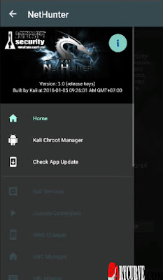 Install kali net Hunter on Android
