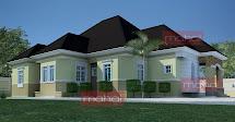 Modern Nigeria Bungalow House Design