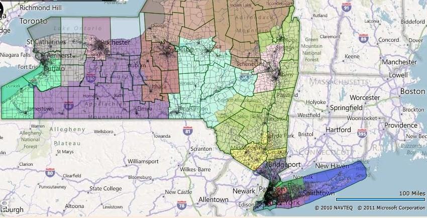 Queens Ny To Long Island Ny Map