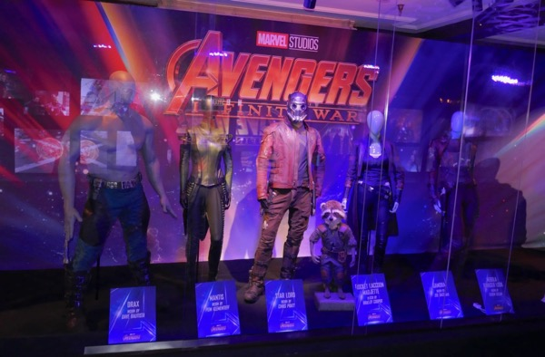 Avengers Infinity War Guardians Galaxy costumes